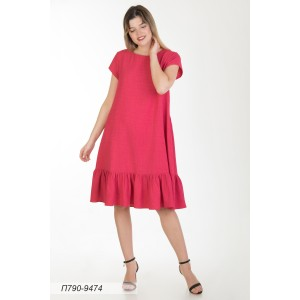 790-9474 Платье ГОЛУБ