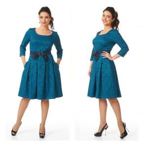 0628  Платье Болеко