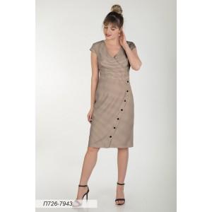 726-7943 Платье ГОЛУБ