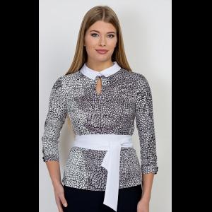 2115 garnet Блуза Emka Fashion