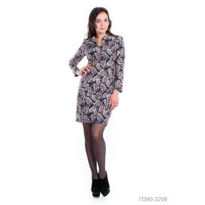 390-3209 Платье ГОЛУБ