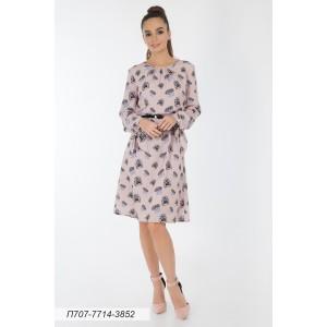 707-7714-3852 Платье ГОЛУБ