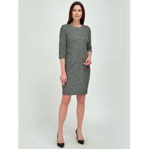 4291-сер Платье VISERDI