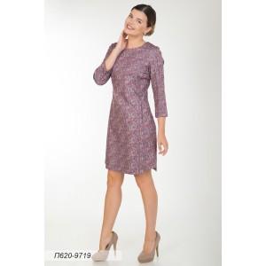 620-9719 Платье ГОЛУБ