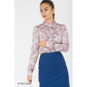 1582-6360 Блуза ГОЛУБ