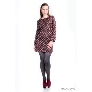 006-3071 Платье-туника ГОЛУБ