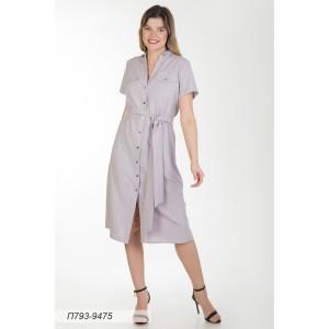 793-9475 Платье ГОЛУБ