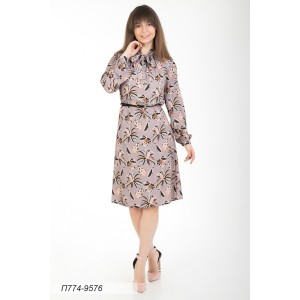 774-9576 Платье ГОЛУБ