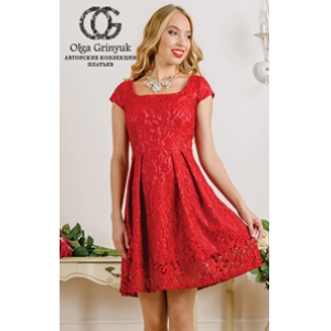 001 Аликанта Платье Olga Grinyuk
