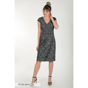 726-8041 Платье ГОЛУБ