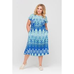 Голубая Мозаика Платье Интикома