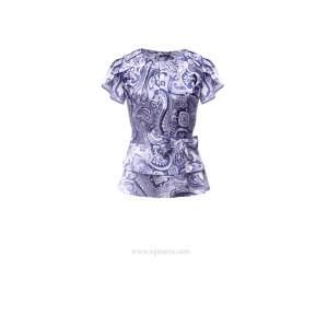 Пейсли Блуза EGMARA