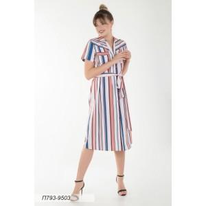 793-9503 Платье ГОЛУБ