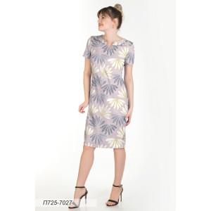 725-7027 Платье ГОЛУБ