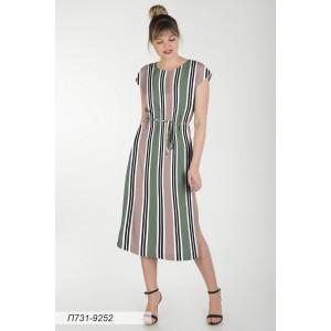 731-9252 Платье ГОЛУБ