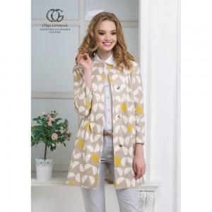 002 Киви Пальто Olga Grinyuk