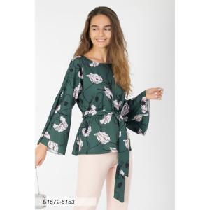 1572-6183 Блуза ГОЛУБ