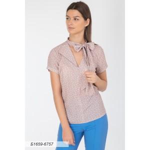 1659-6757 Блуза ГОЛУБ