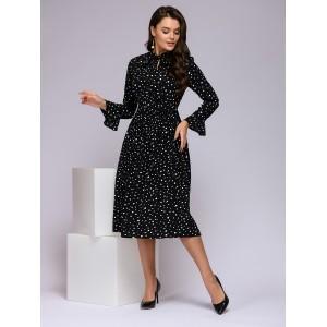 0122001-02225BK Платье 1001dress