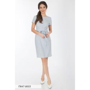 647-8003 Платье ГОЛУБ