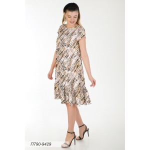 790-9429 Платье ГОЛУБ