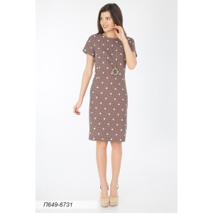 649-6731 Платье ГОЛУБ
