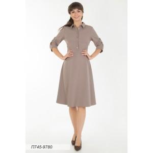 745-9780 Платье ГОЛУБ